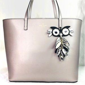 Kate Spade Owl Little Len Cityscape Tote